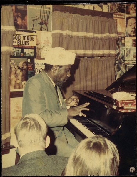 Thelonious Monk performing at Lennie's on the Turnpike, ca. 1968