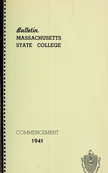 Commencement 1940, May 1941