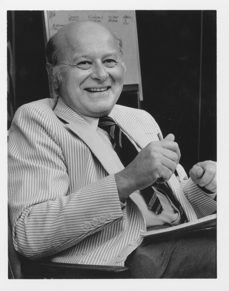 Henry Koffler in his office, ca. 1980