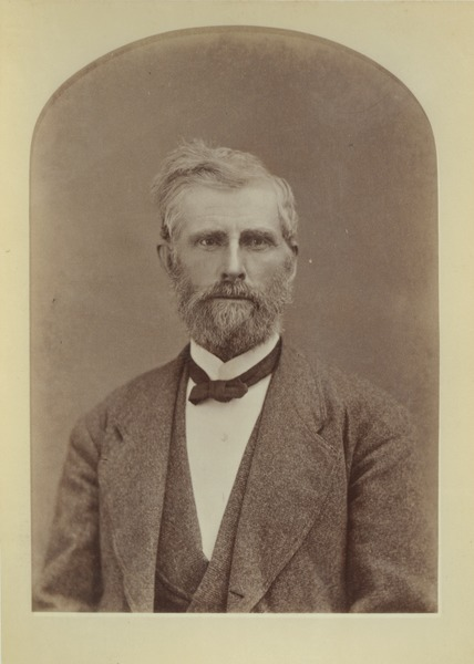 Unidentified faculty member, ca. 1871