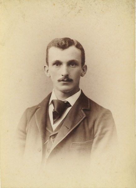 Frank L. Arnold, class of 1891, ca. 1891
