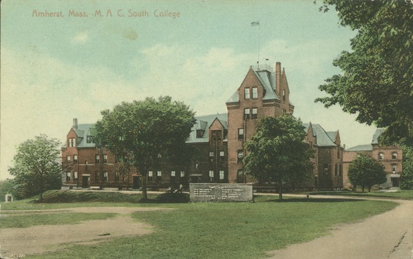 Amherst, Mass., M.A.C., South College, ca. 1910
